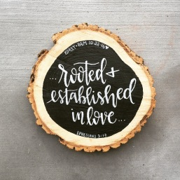 Tree Cookie Wood Sign