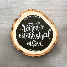 Tree Cookie Wood Sign