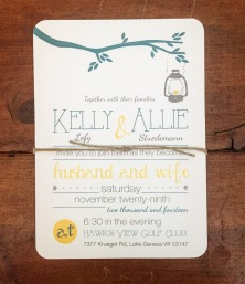 Fun and Casual Wedding Invitation