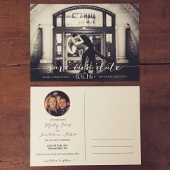 Save the Date Postcard